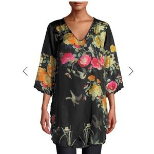 Johnny Was | Charlotte Rose Silk tunic top